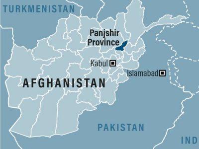 Afghanistan Map-Panjshir