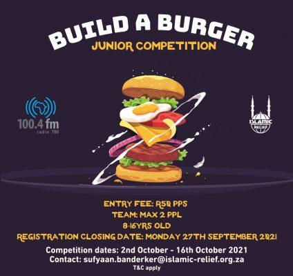 Build a Burger -new dates