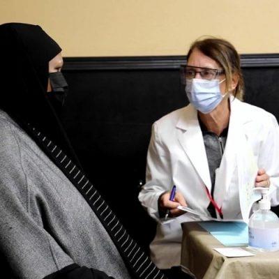 Doctor Muslim woman