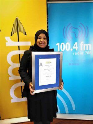 Radio 786 Brand and Communications Manager, Rushni Allie
