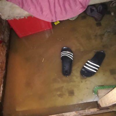 Informal settlement flood