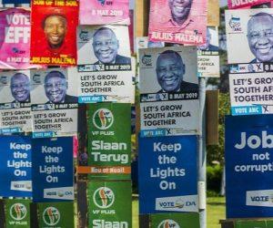 P{olitical parties posters diversity