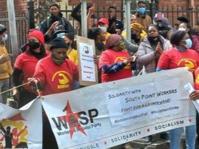Worker strike